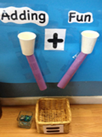 DIY Addition Game   Crafts for Kids   PBS Parents   Addition AND Math for ELLs   Scoop.it