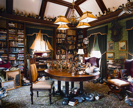The Old-House Library - Old-House Online | Random cool stuff about libraries | Scoop.it