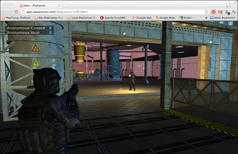 Making a multiplayer 3rd-person shooter in HTML5 | PlayCanvas | WebGL Gaming | Scoop.it