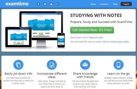 Notes Software - ExamTime Free Online Study Tools | Pedalogica: educación y TIC | Scoop.it