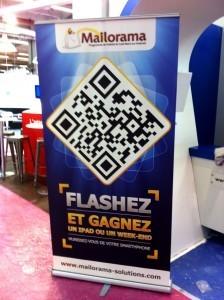Jeu concours autour du stand de Mailorama/Rentabiliweb lors du salon E-Commerce 2011 | Holytag - Le QR Blog | Holytag : Code barres 2D et solutions marketing mobiles | Scoop.it
