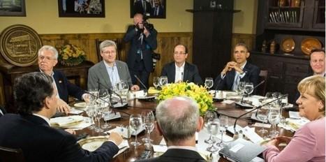 Le G8 se penche sur la crise de la dette dans la zone euro | Econopoli | Scoop.it
