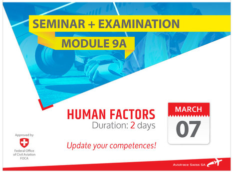EASA Part 66 Module 9A Seminar - Human Factors | AML Basic Maintenance Training | Scoop.it
