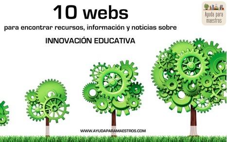 AYUDA PARA MAESTROS: 10 webs para encontrar recursos, información y noticias sobre innovación educativa | Recursos TIC para la enseñanza y el aprendizaje | Scoop.it