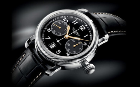Longines Avigation Oversize Crown Watches   Watch Magazine   Scoop.it