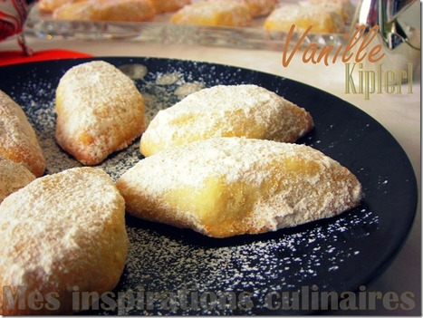 Sablés à la vanille & amandes extra fondants (Vanille Kipferl de Christophe Felder) | Recettes à la Vanille | Scoop.it