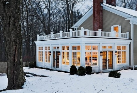 Beating Winter With a Sunroom | Wizard Home Improvements | Scoop.it
