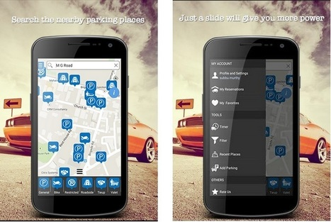Book parking space with ParkingWale mobile app | Mobile Apps | Scoop.it