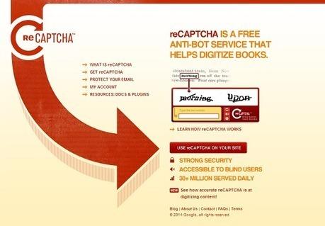 ReCaptcha : nous travaillons tous pour Google    InternetActu.net   Communication 2.0 (référencement, web rédaction, logiciels libres, web marketing, web stratégie, réseaux, animations de communautés ...)   Scoop.it