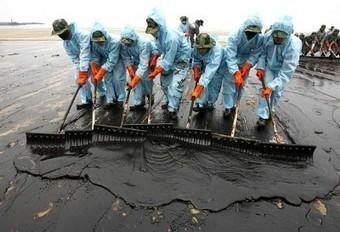 Derrame de petróleo en el Golfo de México, ¿en peligro la salud de los voluntarios? - | Infraestructura Sostenible | Scoop.it