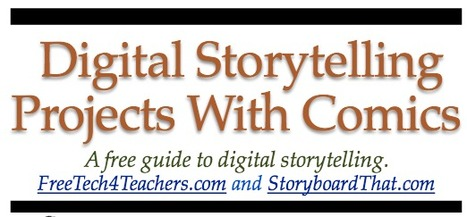Free Technology for Teachers: Free Ebook - Digital Storytelling With Comics   Technology integration   Scoop.it