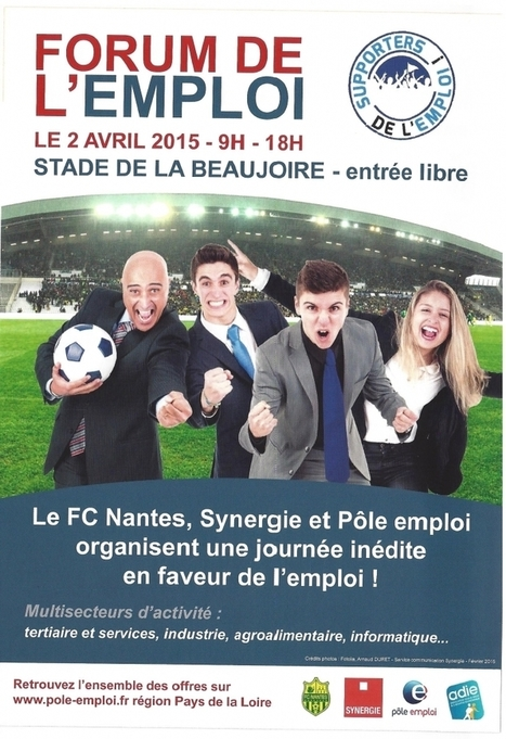 Forum de l'emploi au stade de la Beaujoire à Nantes | La Boîte à Idées d'A3CV | Scoop.it