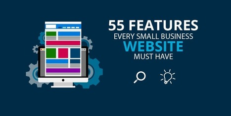 Website Features Checklist: 55 Features Your Site Must Have   Smart Small Business Marketing, by Sales Renewal   Scoop.it