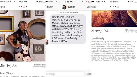 """The Mindy Project"" Is Advertising on Tinder with Fake Profiles 