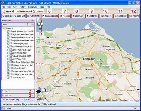 Visualising urban geographies: Map Builder   Géographie numérique   Scoop.it