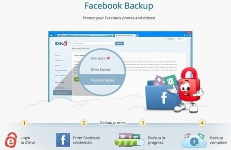 [outil] iDrive vous permet de faire une sauvegarde complète de vos données Facebook | Geeks | Scoop.it