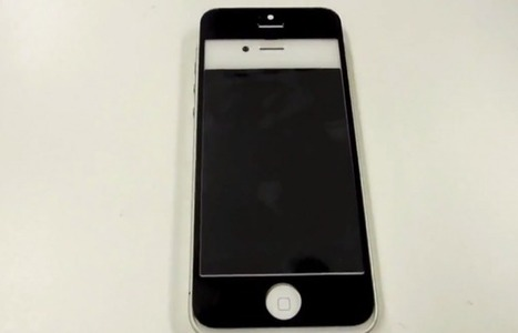 Vidéo de la façade avant de l'iPhone 5 - Be Geek | Digital Think | Scoop.it