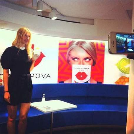 Maria Sharapova, de la balle aux bonbons | finger food | Scoop.it