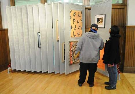 Braddock library project lends paintings to patrons - Tribune-Review | Book News Readers Can't Live Without | Scoop.it