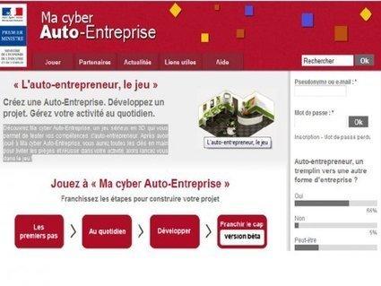 Ma Cyberautoentreprise en 1re STG - CREG | Jeux sérieux en économie-gestion | Scoop.it