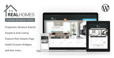 Real Homes – WordPress Real Estate Theme | eCommerce Website Templates | Scoop.it