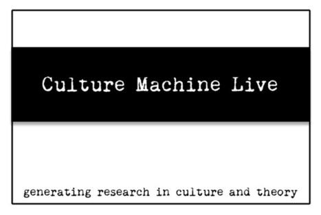 Intervista per Culture Machine Live - disruptivemedia.org   Post-digital Print. La mutazione dell'editoria dal 1894   Scoop.it