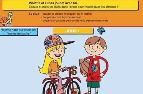 Le tetris des enfants nomades | FLE enfants | Scoop.it