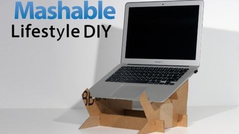 Lifestyle DIY: Create Your Own Cardboard Laptop Stand | Educação Especial | Scoop.it