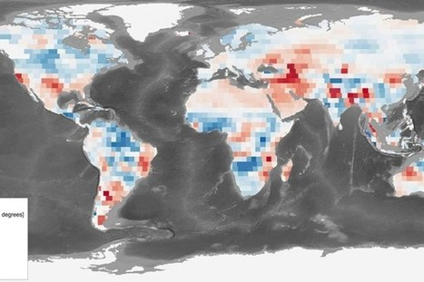 Sea level rise slowed by parched 'sponge-like' continents   Geology   Scoop.it