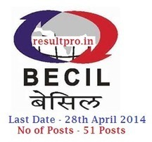 BECIL Recruitment 2014, Auditor, Monitor 51 Posts Online Form   Education   Scoop.it