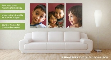 9 Creative Canvas Print Ideas | Picablog | Picaboo Blog | Photobooks | Scoop.it