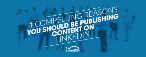 4 Compelling Reasons to Publish Content on LinkedIn   Social Selling & Media sociaux en B2B   Scoop.it