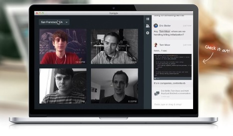 Persistent Team Collaboration Workspace Integrates Always-on Videoconferencing: Sqwiggle | Educomunicación | Scoop.it