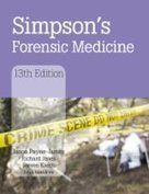 Simpson's Forensic Medicine, 13th Edition   Forensic medicine & pathology resources   Scoop.it