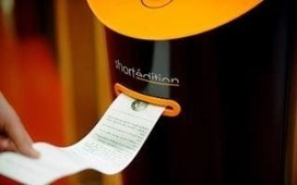 Vending machines dispense short stories to bored French commuters   The New School   Scoop.it