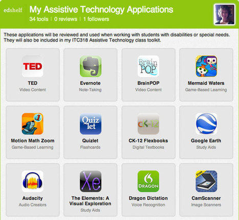 34 Assistive Technology Apps From edshelf | Anthro of the Body | Appunti sparsi di Antropologia del Corpo | Scoop.it