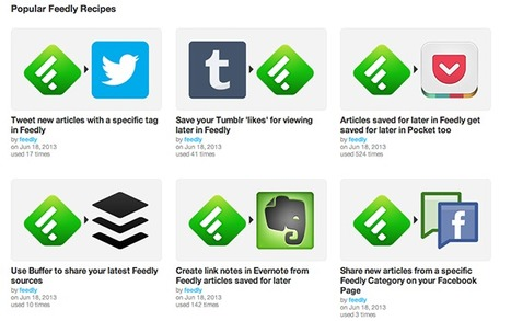 Feedly's IFTTT Channel Is Now Live [Updates] | Personal Branding and Professional networks | Scoop.it