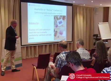 Active Carbon : le professeur Harold van Es du Cornell University discute de la santé des sols à l'Université de Wageningen ( exposé en anglais, juin 2016) | MOF Matière Organique Fugace réactive du sol | Scoop.it
