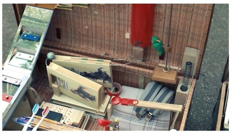El Tao de la Física: La lindísima mini máquina Rube Goldberg para viajeros | Mente | Scoop.it