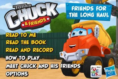 Tonka Truck characters get cast in an app   Transmedia: Storytelling for the Digital Age   Scoop.it   Creative Digital Storytelling   Scoop.it
