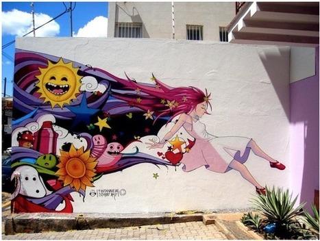 Le Graffiti, l'art venu de la rue | IEFM'3d - école du jeu vidéo du web et de l'infographie 2D ou 3D | Graphic Design | Scoop.it