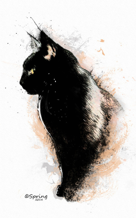 22 Design & Illustration Tutorials on Tuts+ for Creative Cat Lovers - Tuts+ Design & Illustration Article | Photoshop Tutorials | Scoop.it