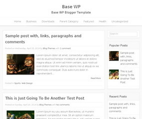 Base WP Blogger Template | Blogger themes | Scoop.it