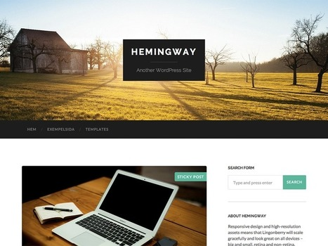 Top 15 Free WordPress Themes Released in 2014 | Public Relations & Social Media Insight | Scoop.it