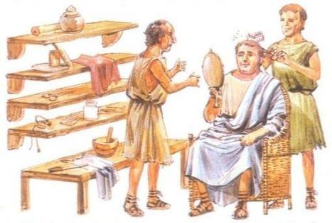 La estética masculina en la Antigua Roma; afeitados. | Mundo Clásico | Scoop.it