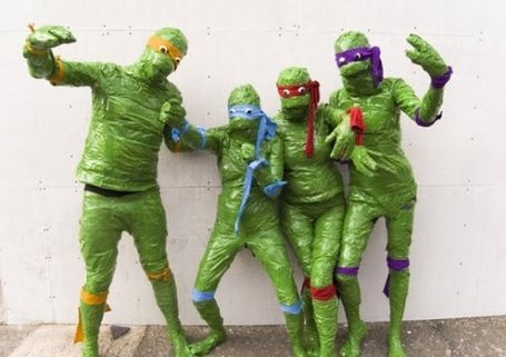 Low-Budget TMNT Cosplay Is Horrifying | All Geeks | Scoop.it