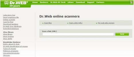 Dr.Web Online Scanner: comprueba si una página web tiene virus | Ciberseguridad + Inteligencia | Scoop.it