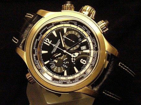 Jaeger LeCoultre Master Compressor Extreme World Chronograph Valentino Rossi | Ductalk | Scoop.it