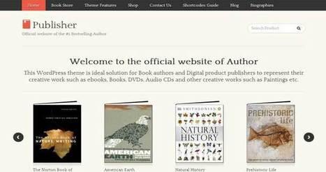 8 Best WordPress Bookstore Themes For Selling eBooks | WordPress Themes | Scoop.it