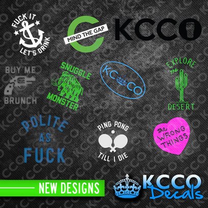 New #Sticker Design Package - #kcco KCCOdecals.com | KCCO | Scoop.it